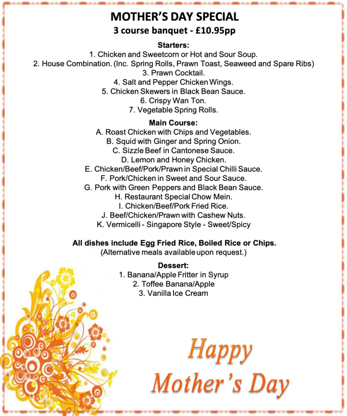 Mothers day menu 1 20